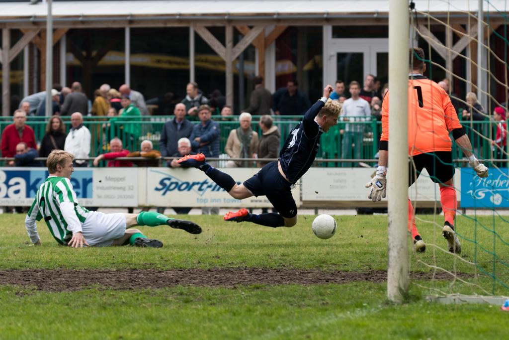 Voetbal: een voorsprong uit handen geven