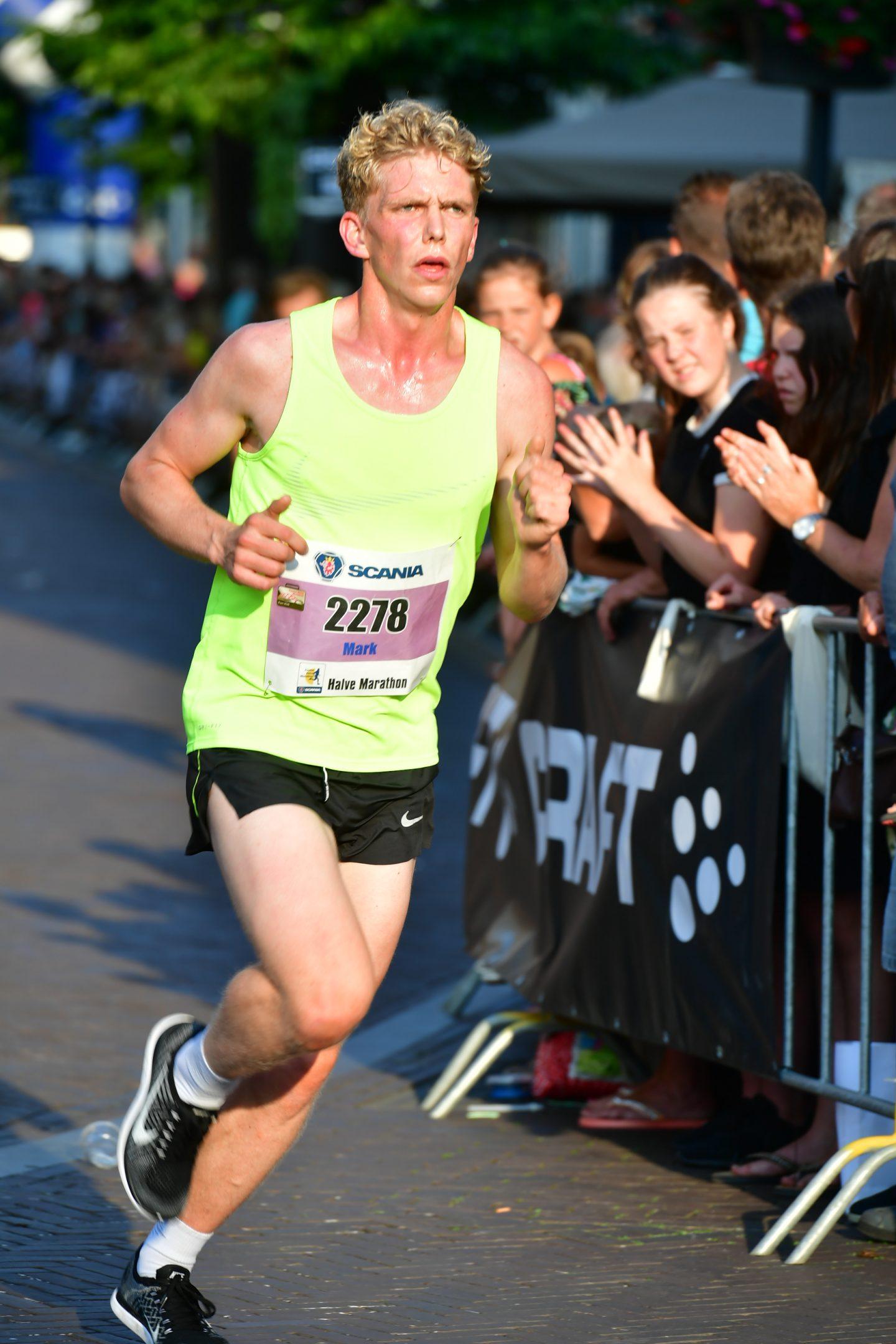Marathon van Amsterdam: Een goed begin